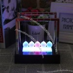 Glow Colorful Newton's Cradle Balance Balls