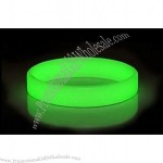 Glow in the Dark silicone wristband silicone bracelet
