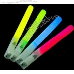 Glow stick whistle