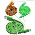 Glowing USB Cable Mobile Phone Charging Cable