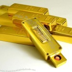 Gold Bar Electronic Lighter