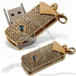 Gold Diamond USB Flash Disk