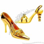 Gold High-heeled Shoes Craft