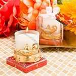 Gold Magic Lantern Candle Votive Holder