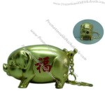 Golden Pig Lighter