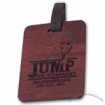 Golf Bag Tag in Solid Wood