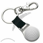 Golf Ball Key Tag