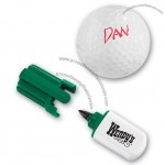 Golf Ball Marker Pen W/Quick Drying Water Proof Ink