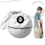Golf Ball Sport Safe with Rain Poncho and Clip