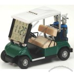 Golf cart clock perpetual calendar