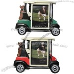 Golf Cart Picture Frame