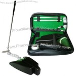 Golf Practice Putter Set With Automatic Ball Return Putting Cup