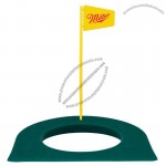 Golf Practice Putting Cup With Flag Stick