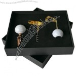 Golf Wine Opener Set