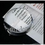 Goodfaire Crystal Magnifier Paperweight