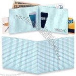 Graph Paper Mighty Tyvek Wallet