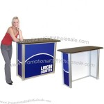 Graphic Counter Display Linear Folding Modular Counter 24in Wide