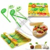Green Leaves Fruit Fork