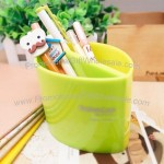 Green Leaves Plastic Pen Holder
