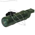 Green - Survival tube with whistle.