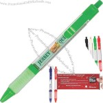 Groove series glossy translucent finish Banner pen