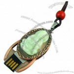 Guanyin Jade USB Flash Drive with Sika