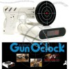 Gun O'Clock shooting alarm clock
