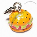 Hamburgers Shape Wine Charms