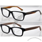 Hand Made Wood Temples Glasses Frame