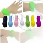 Hand Sanitizer Silicone Refillable Wristband - Outdoor Hand Washing Bracelet
