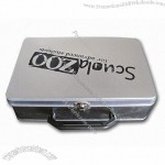 Handle Lunch Tin Boxes