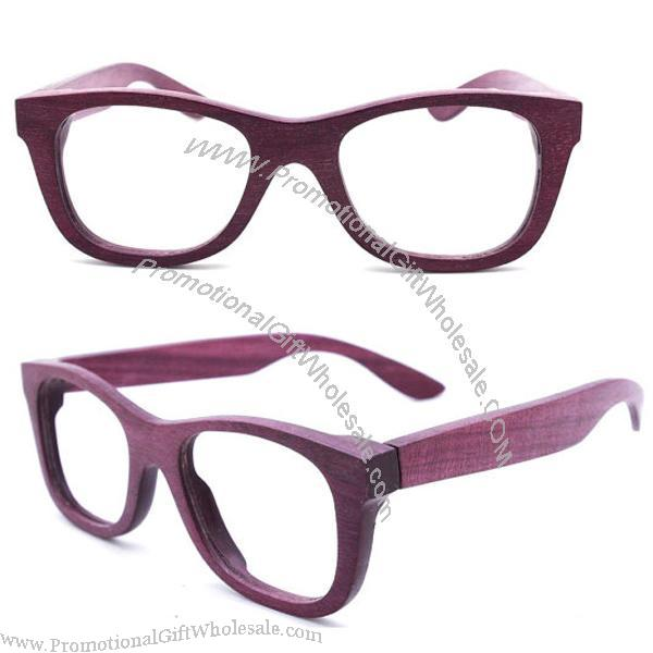 handmade purple wood wooden eyeglasses glasses frame china