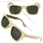 Handmade wood wayfarer Polarizing Sunglasses
