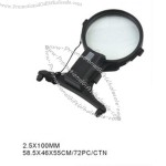 hanging magnifier 2.5x100mm