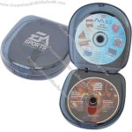 Hard case CD holder, 24.