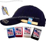Hat clip / pencil holder with custom decal.