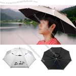 Hat Umbrella Golf Fishing Camping Novelty Headwear Cap
