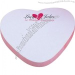 Heart Adhesive Spring Sticky Note Pads