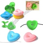 Heart Cable Organizer Winder Cord Wrap
