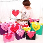 Heart Lovely Fashion Paper Gift Bag
