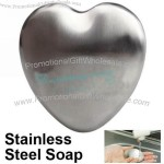 Heart Shape Magic Stainless Steel Soap