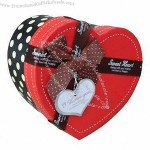 Heart Shaped Eco-friendly Paper Gift Box