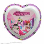 Heart Shaped Kid's Plate 22.5 x 2.3cm