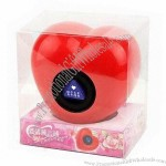 Heart-shaped Magic Ball with 10cm Diameter