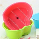 Heart Shaped Plastic Basin