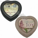 Heart-shaped Plastic Music Box for Special Someone