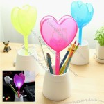 Heart Shaped USB Light Pen Holder