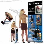 Heavy Base Roll Up Banner Stand Displays