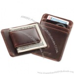 Heritage Leather Money Clip