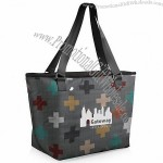 Hermosa Insulated Cooler Tote - Pixels